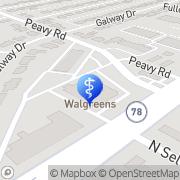 Map Walgreens Pharmacies Dallas, United States