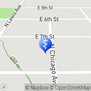 Map Family Eye Care Center Sioux Falls, United States