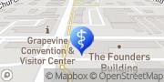 Map Sunrise Center Grapevine, United States