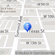 Map Texas Dental Center of Fort Worth Fort Worth, United States