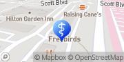 Map Aspen Dental Temple, United States