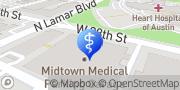 Map Austin Brain Tumor Center Austin, United States