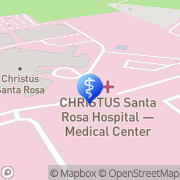 Map CHRISTUS Santa Rosa Hospital - Medical Center San Antonio, United States