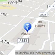 Map Specsavers Opticians and Audiologists - Barkingside Barkingside, United Kingdom