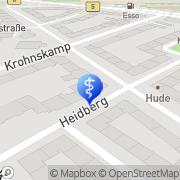 Karte Petra Lopitzsch M.A. Paar- und Einzeltherapeutin Hamburg, Deutschland