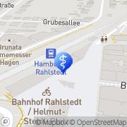 Karte Amplifon Hörgeräte Hamburg, Deutschland