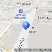 Karte Dr. med. Axel Holst Hamburg, Deutschland