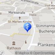 Karte Dr. med. Albrecht Grupp Arzt für Augenheilkunde Winsen, Deutschland
