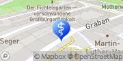 Karte terzo-Zentrum Schweinfurt, Deutschland