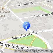 Karte Opferhilfebüro Braunschweig Braunschweig, Deutschland