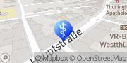 Karte terzo-Zentrum Waltershausen, Deutschland