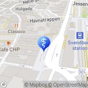 Kort Misbrugskonsulent Svendborg, Danmark