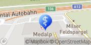 Karte Medalp Zentrum f ambulante Chirurgie Betriebs GmbH Imst, Österreich
