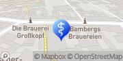 Karte terzo-Zentrum Bamberg, Deutschland