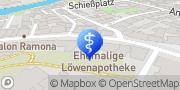 Karte Dienstleistungen Bernhard Fürth, Deutschland