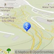 Map Mack Sparks Kuala Lumpur Village, Malaysia