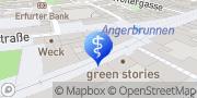 Karte terzo-Zentrum Erfurt, Deutschland