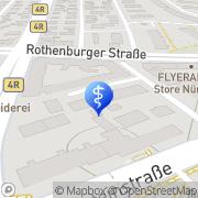 Karte Dr. Eduard Deininger Nürnberg, Deutschland