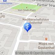 Karte Schumacher Florian Nürnberg, Deutschland