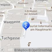 Karte Haustein, WolfZahnarzt Nürnberg, Deutschland
