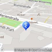 Karte Mund-Kiefer-Gesichtschirurgie Dr.Dr. Eike Palluck Nürnberg, Deutschland