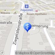 Karte Rießner, Ernst-MartinDr.Zahnarzt Nürnberg, Deutschland