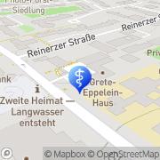 Karte Evangelischer Dienst Nürnberg, Deutschland