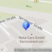 Karte Reha & Care Nürnberg, Deutschland