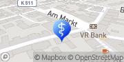 Karte terzo-Zentrum Bad Berka, Deutschland
