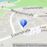 """Karte Pflege """"Bei St. Otto"""" Lauf, Deutschland"""