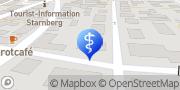 Karte terzo-Zentrum Starnberg, Deutschland