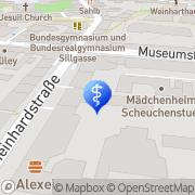 Karte Augenzentrum Innsbruck - für ein Leben ohne Brille Innsbruck, Österreich