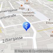 Karte Zahnarztpraxis Rindsberg Neumarkt i.d.OPf., Deutschland