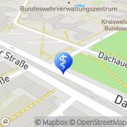 Karte Praxis für Humangenetik München, Deutschland