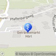Karte Therapiezentrum Geisenfeld Geisenfeld, Deutschland