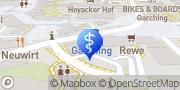 Karte terzo-Zentrum Garching bei München, Deutschland