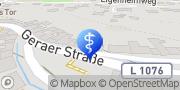 Karte terzo-Zentrum Stadtroda, Deutschland