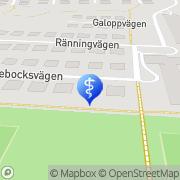 Karta Bji Ögontjänster AB Uddevalla, Sverige