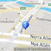 Karta Daniela Holm AB Göteborg, Sverige