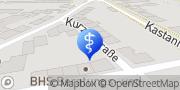 Karte Praxis für Ergotherapie Gitte Hönig Köthen (Anhalt), Deutschland