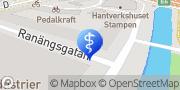Karta Ren Akupunktur AB Göteborg, Sverige