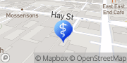 Map East Perth Chiropractic Health Centre East Perth, Australia