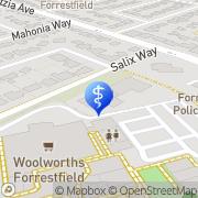 Map Dentalcare Of Forrestfield Forrestfield, Australia