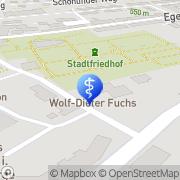 Karte Dr Fuchs Wunsiedel, Deutschland