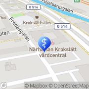 Karta Hälsa i Kubik Mölndal, Sverige