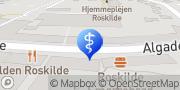 Kort Tandlægerne Algade 65 B Roskilde, Danmark