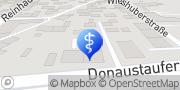 Karte Physiotherapie Praxis Mandl Regensburg, Deutschland