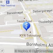 Kort AudioNova Hørecenter Høje Tåstrup, Danmark