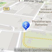 Karte Dr. med. Hauke Czyborra Rathenow, Deutschland