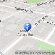 Kort Plejehjemmet Arbejde Adlers Hus København, Danmark